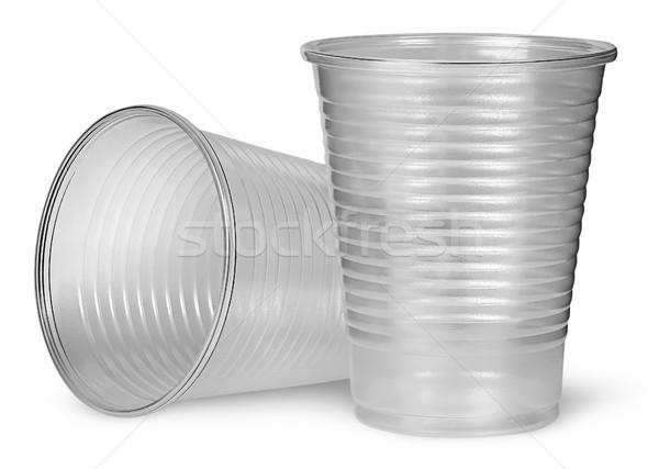 Постоянный пластиковых изолированный белый служба Сток-фото © Cipariss
