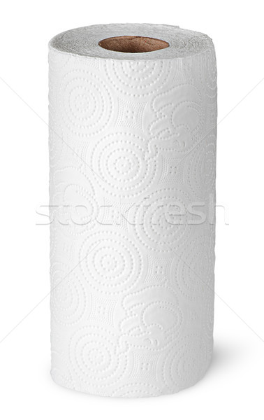 Roll paper towels on the bushing vertically Stock photo © Cipariss