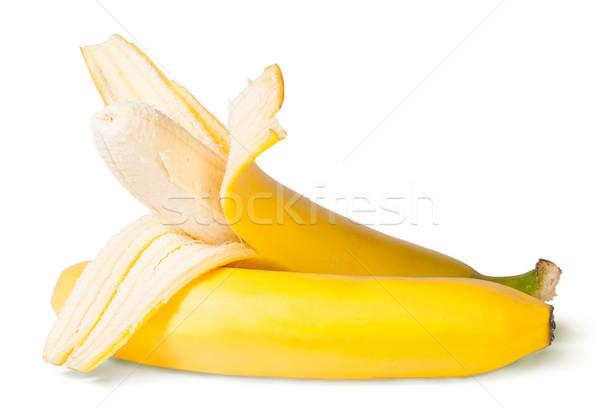 Partially Peeled Bananas Stock photo © Cipariss