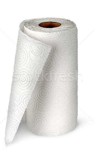 紙 キッチン タオル 孤立した 白 ストックフォト © Cipariss
