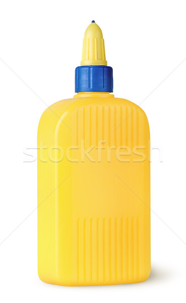 Plastic bottle of glue rotated Stock photo © Cipariss