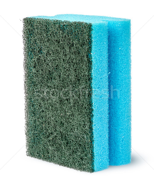 Sponge to wash dishes vertically Stock photo © Cipariss