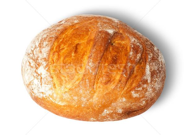 Cipó fehér kenyér izolált háttér egészséges Stock fotó © Cipariss