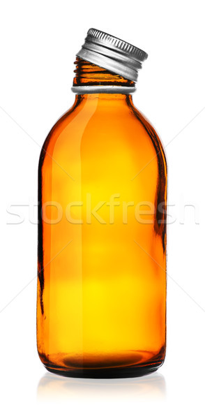 Medical bottle with cover removed Stock photo © Cipariss