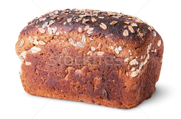 Siyah ekmek tohumları üst görmek yalıtılmış Stok fotoğraf © Cipariss