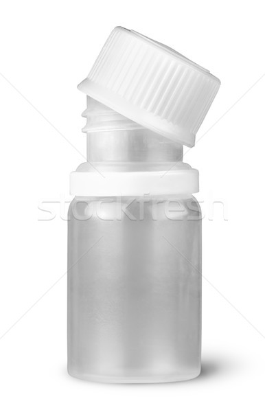 Small plastic bottle with lid removed Stock photo © Cipariss