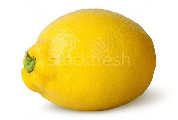 Ripe refreshing lemon turned Stock photo © Cipariss