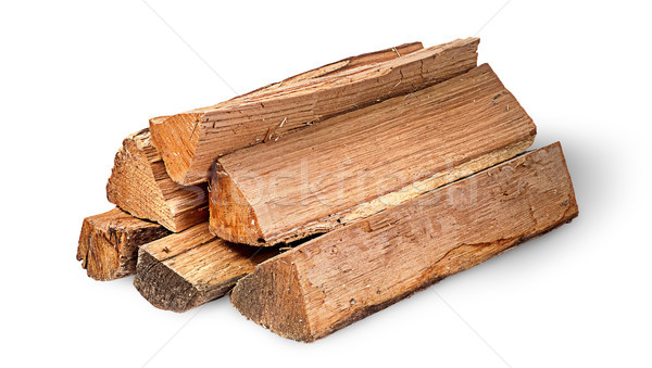 Pile of firewood rotated Stock photo © Cipariss
