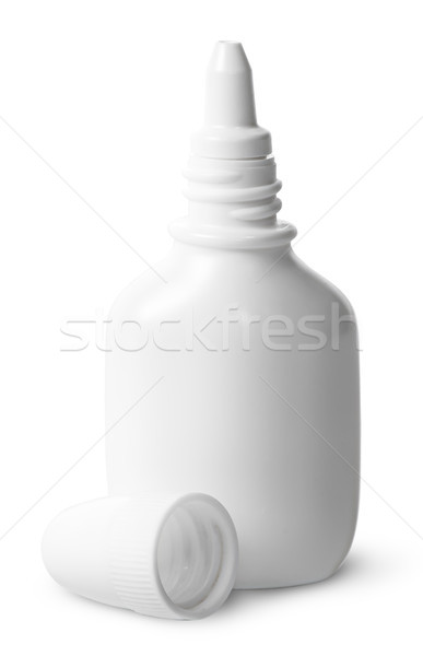 White nasal spray cap beside Stock photo © Cipariss