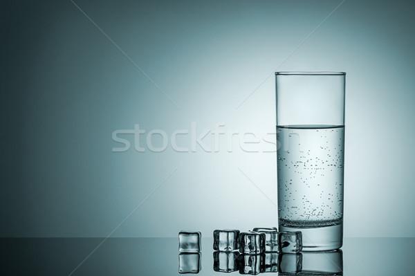 Foto stock: Vidrio · agua · aire · burbujas · reflexión