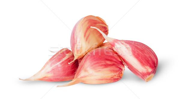 Pile garlic cloves Stock photo © Cipariss