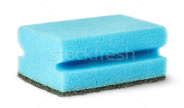 Sponge for washing dishes with felt horizontally Stock photo © Cipariss