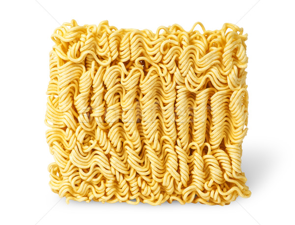 Noodles of fast preparation vertically Stock photo © Cipariss