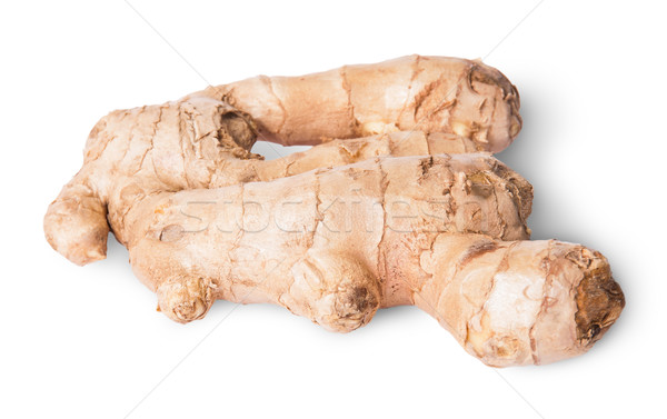 Entire ginger root Stock photo © Cipariss