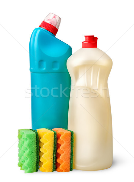 Sponges and detergent Stock photo © Cipariss