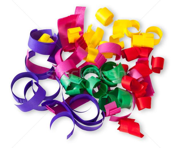 Multicolored Confetti Serpentine Stock photo © Cipariss
