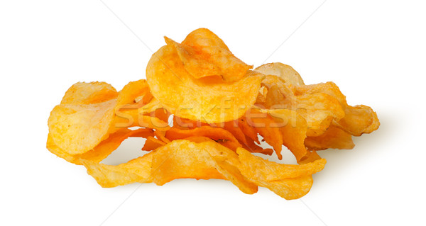 Pile of potato chips Stock photo © Cipariss