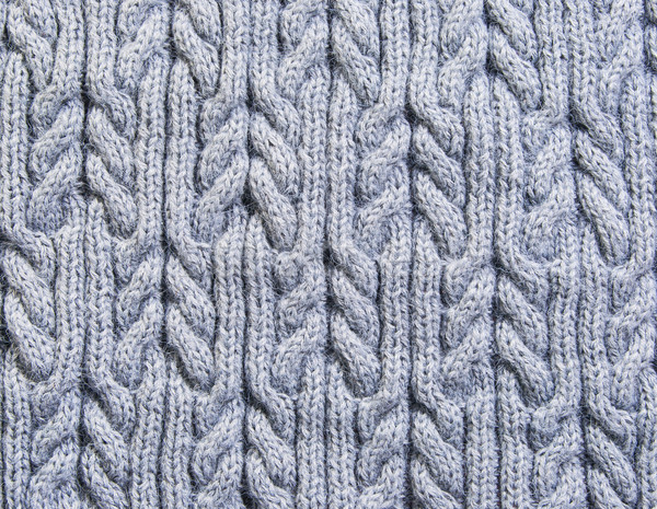 Gray background knitted fabric Stock photo © Cipariss