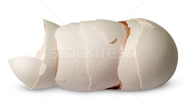 Boglya tojások izolált fehér étel háttér Stock fotó © Cipariss