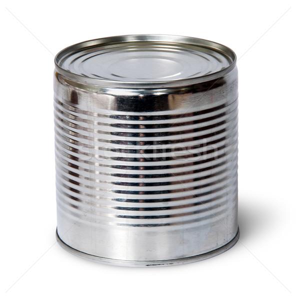 Silver tin can Stock photo © Cipariss