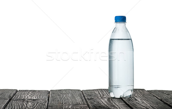 Plastic bottle of water on the table Stock photo © Cipariss
