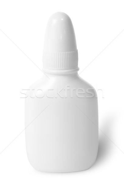 White nasal spray with cap Stock photo © Cipariss