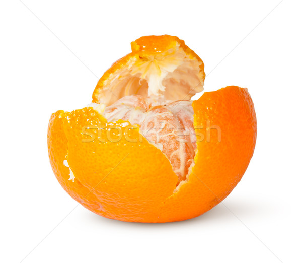 In Front Partially Purified Tangerine Stock photo © Cipariss