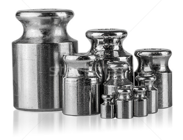 Several different weights near Stock photo © Cipariss