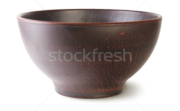 Empty ceramic bowl Stock photo © Cipariss