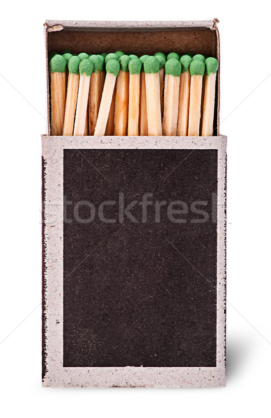 Open box of matches vertically Stock photo © Cipariss