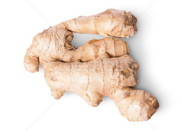 Entire ginger root top view Stock photo © Cipariss