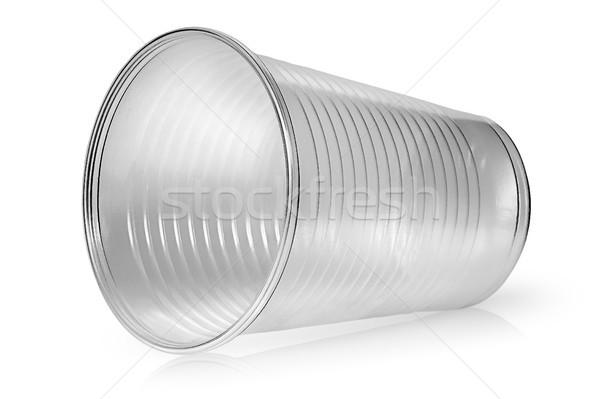 Műanyag csésze izolált fehér iroda étterem Stock fotó © Cipariss