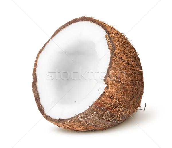 Half of coconut Stock photo © Cipariss
