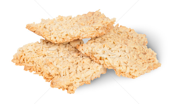 Three Pieces Of Home Grated Shortcake Stock photo © Cipariss
