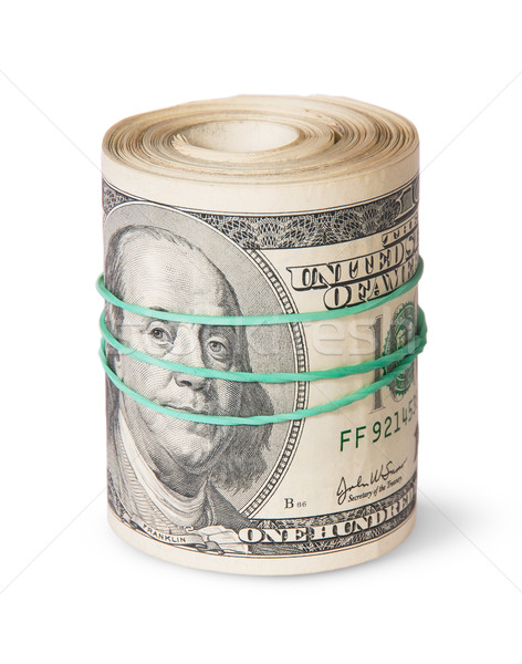 Roll Of One Hundred Dollar Bills Stock photo © Cipariss