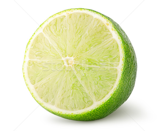Half of lime rotated Stock photo © Cipariss