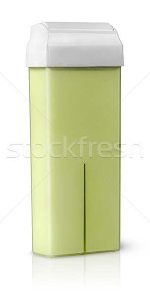 Cartridge with wax for depilation rotated vertically Stock photo © Cipariss