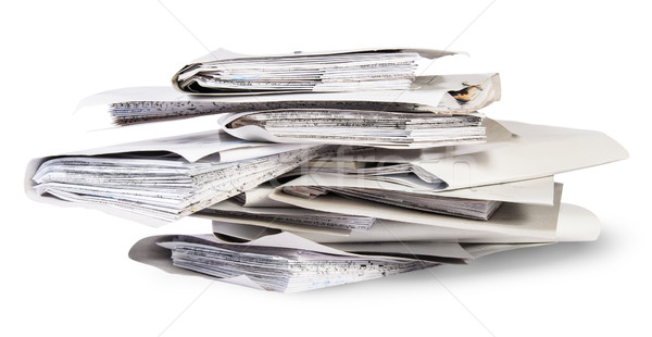 Pile of files in chaotic order Stock photo © Cipariss