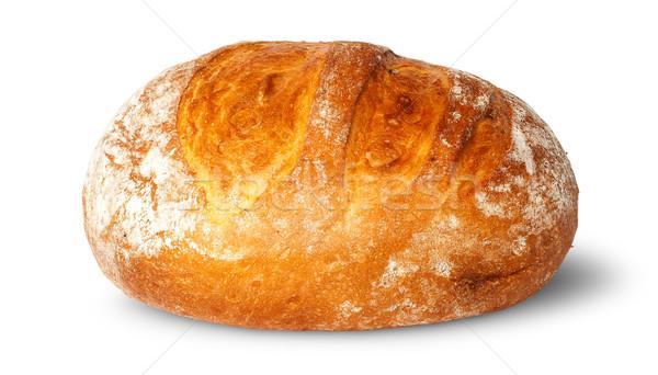 Elöl cipó fehér kenyér izolált háttér Stock fotó © Cipariss