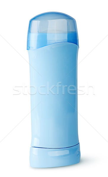Blue deodorant container rotated Stock photo © Cipariss