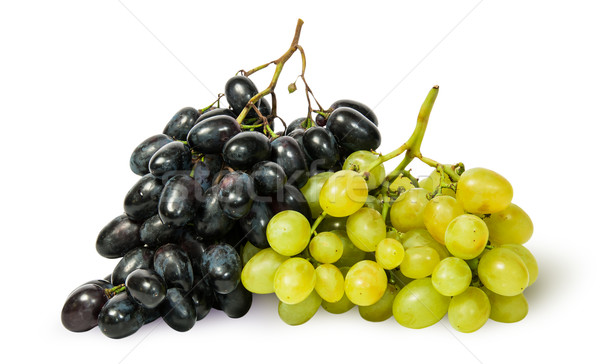 Two bunches of grapes Stock photo © Cipariss