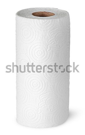 Paper kitchen towels strongly unwound Stock photo © Cipariss