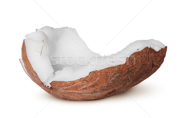 One piece of coconut pulp Stock photo © Cipariss