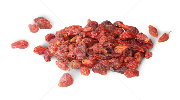 Pile Of Dry Rosehip Fruit Stock photo © Cipariss