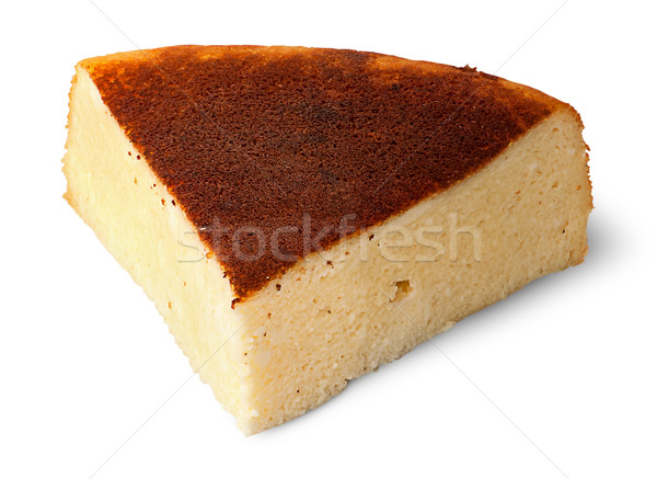 Appetizing piece of cheese casserole Stock photo © Cipariss