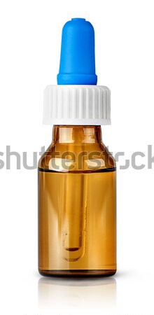 Nasal drops with pipette Stock photo © Cipariss