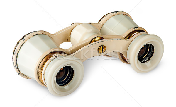 Old vintage pair of opera glasses Stock photo © Cipariss