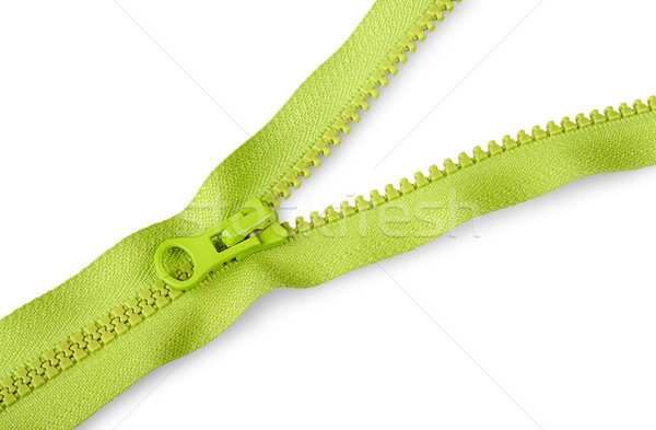 Partially unbuttoned fastener diagonally Stock photo © Cipariss