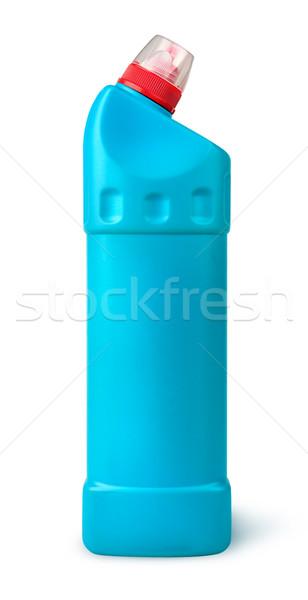 Desinfectante plástico botella aislado blanco trabajo Foto stock © Cipariss