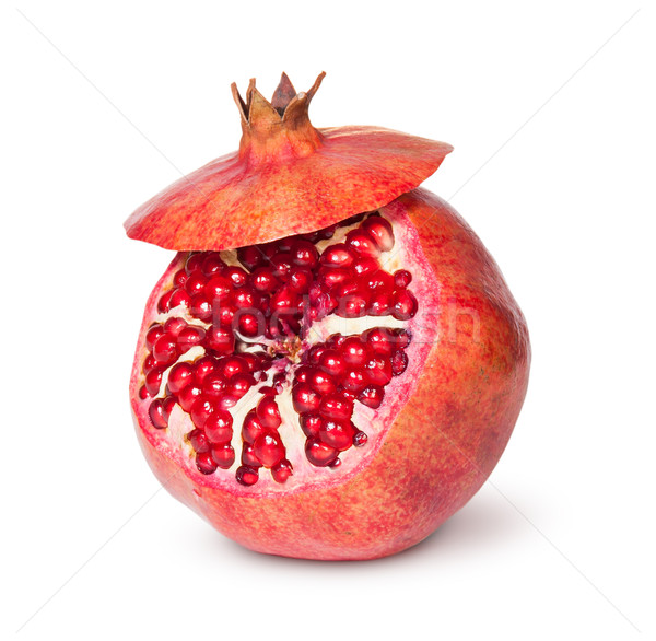 Delicious Exotic Pomegranate Fruit With Lid Stock photo © Cipariss